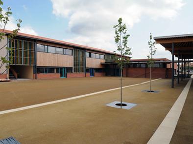 école de Fronton Vue cour