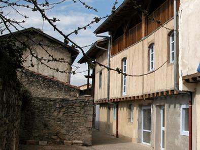 Musée de Martres Tolosane transformation de 6 maisons Réhabilitation Restructuration Patrimoine Architecte Agence Collart Terre