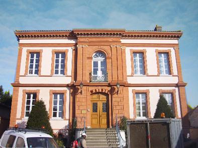 Mairie de Venerque réhabilitation architecte patrimoine Agence Collart